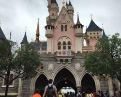 Castle at Hong Kong Disneyland