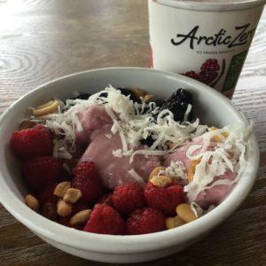 Arctic zero smoothie bowl