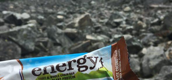 Snow lake hike with snacks