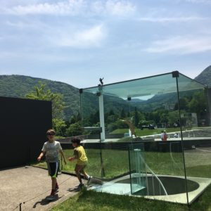 Hakone open air museum with kids in japan