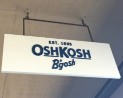 Osh Kosh Sign North Bend