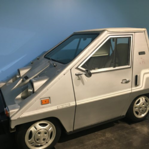 Electric Car from the 1970's at the Le May Car Museum
