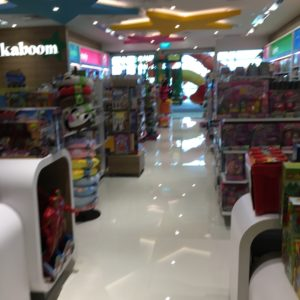 Kids stores at the Changi Airport