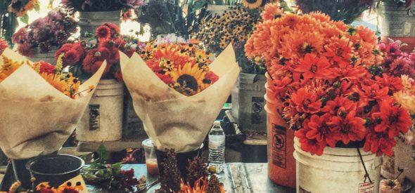 Pike Placde Market flowers