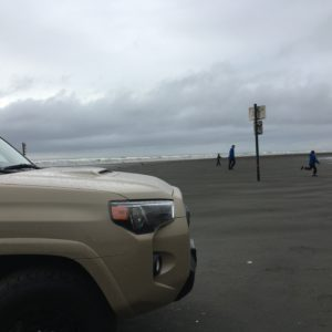 TRDpro Toyota 4Runner in Quicksand