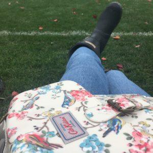 Soccer mom wear