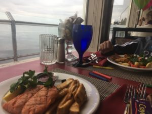 Kid's meal at Salty's Redondo Beach Seattle