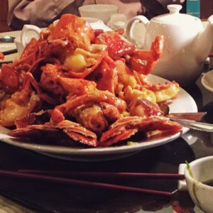 Lobster Dish at Golden Paramount Seafood Restaurant
