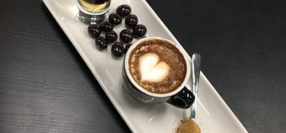 Beautiful Coffee at Caffe D'arte