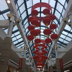 Chinese New Year Decorations at Richmond Center Mall