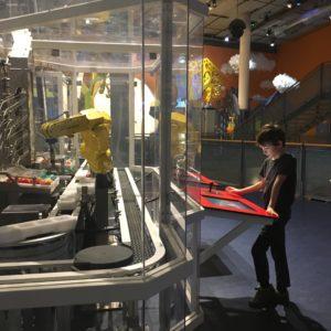 neat robotic program at Nem Museum in Amsterdam