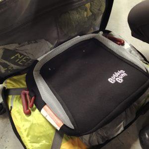 Bubble Bum packable Booster Seat