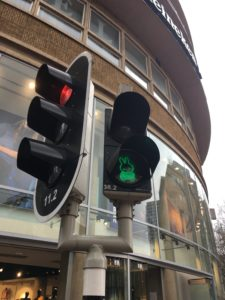 Miffy Crosswalk light in Utrecht