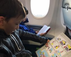 Flying with kids from North America to Australia