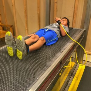 Bed of Nails at Boston Museum of Science